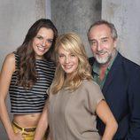 Cristina Alarcón, Gonzalo de Castro y Belén Rueda en la segunda de 'B&b, de boca en boca'
