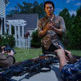 Steven Yeun es Glenn Rhee en la sexta temporada de 'The Walking Dead'