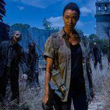 Sonequa Martin-Green es Sasha Williams en la sexta temporada de 'The Walking Dead'