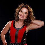 Vicky Larraz, concursante de la cuarta edición de 'Tu cara me suena'