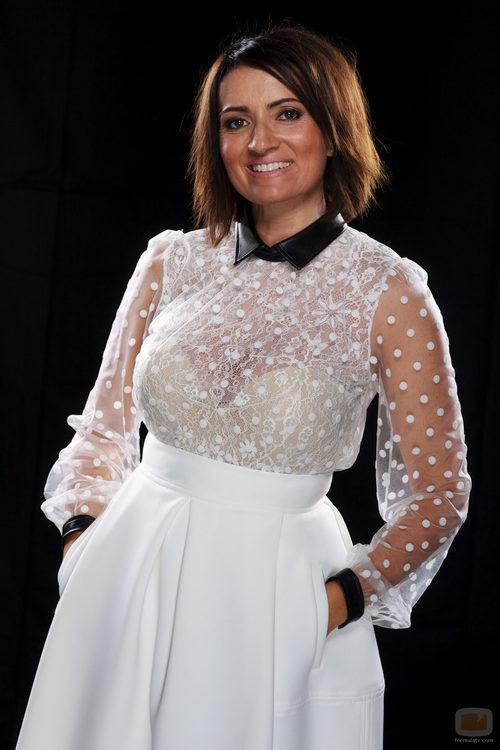 Silvia Abril, concursante de la cuarta edición de 'Tu cara me suena'