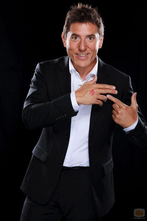 Manel Fuentes, presentador de la cuarta edición de 'Tu cara me suena'