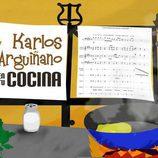 Logotipo de 'Karlos Arguiñano en tu cocina', temporada 2011-2012