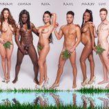 Primera Línea desnuda nuevamente a 13 concursante de 'Adán y Eva'
