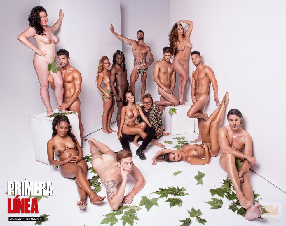 Los desnudos de la primera temporada de 'Adán y Eva'