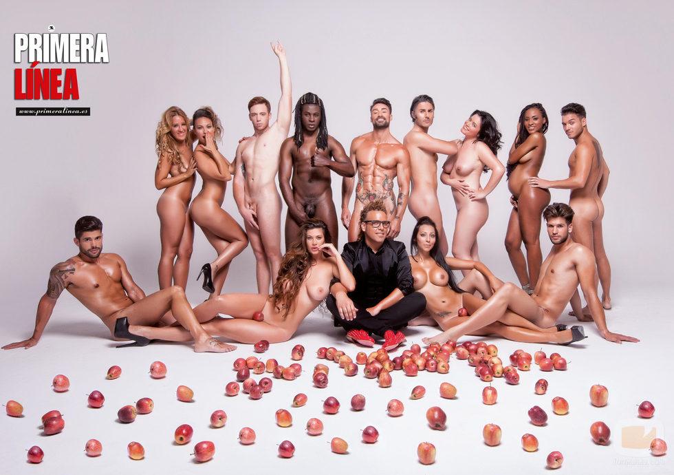 Torito con los desnudos más carismáticos de 'Adán y Eva' (T1)