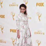 Emily Robinson en los Emmys 2015
