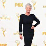 Jamie Lee Curtis en la alfombra roja de los Emmy 2015