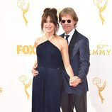 Felicity Huffman y William H. Macy en los Emmy 2015