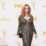 Christina Hendricks en los Emmy 2015