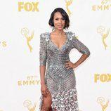 Kerry Washington en la alfombra roja de los Emmy 2015
