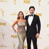 Sofia Vergara y Joe Manganiello en los Emmys 2015