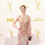 Ellie Kemper en la alfombra roja de los Emmys 2015
