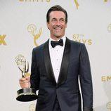 Jon Hamm se alza vencedor en los Emmy 2015