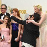 Los actores de 'Juego de Tronos' inmortalizan el momento en los Emmy 2015