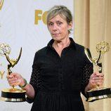 Frances McDormand presume de estatuillas en los Emmy 2015