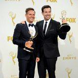 Mark Burnett y Carson Daly, productores con éxito de 'The Voice'