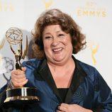 Margo Martindale, muy feliz de recibir un Emmy 2015
