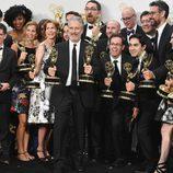 El equipo de 'The Daily Show' despide a su presentador en los Emmy 2015