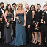 El equipo de 'Inside Amy Schumer' celebran su premio Emmy 2015