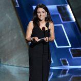 Julia Louis-Dreyfus especialmente contenta en su discurso en los Emmy 2015
