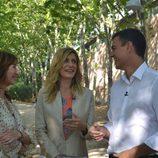 La mujer de Pedro Sánchez (PSOE) se une a la entrevista con Ana Rosa