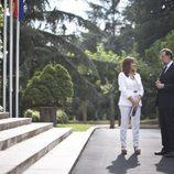 Ana Rosa y Mariano Rajoy (PP) en La Moncloa