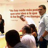 Albert Rivera (C's) presenta su equipo a Ana Rosa