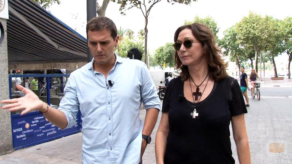 Ana Rosa entrevista a Albert Rivera (C's)