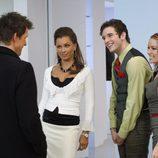 Wilhemina, Marc y Amanda hablan con Daniel en 'Betty la fea'