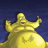 Homer Simpson gordo
