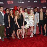 Los actores de 'Scream Queens' celebran el primer capítulo de la serie