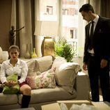 Sara Sálamo y César Mateo tristes en 'B&b, de boca en boca'