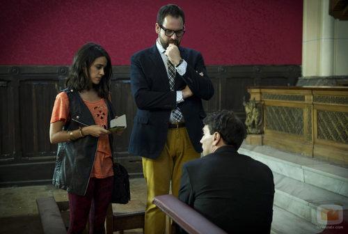 Macarena García, Jorge Usón hablan con Cristóbal Suárez en 'B&b, de boca en boca'