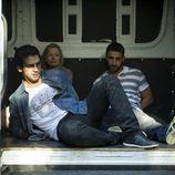Fran Perea y Dani Rovira raptados en una furgoneta en 'B&b, de boca en boca'