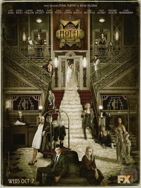 Póster oficial de 'American Horror Story: Hotel'