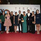 Reparto de 'Teresa' en San Sebastián