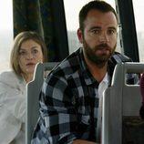 Nieves, Suso y Lola en un altercado en el autobus en 'Rabia'