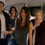 Marta, Belén y Pilar en el autobús de 'Rabia'