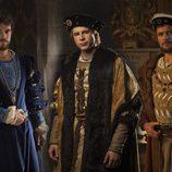 Carlos, Franciso I de Francia y Enrique VIII en 'Carlos, Rey Emperador'