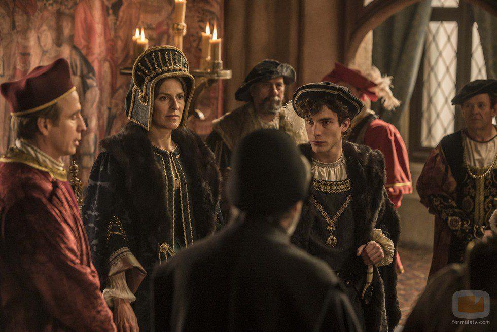 Margarita de Austria y Fernando de Austria en 'Carlos, Rey Emperador'