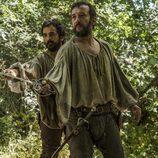 Hernán Cortes y Juan Velázquez en 'Carlos, Rey Emperador'