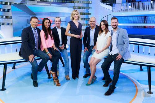 Foto de familia del equipo de 39 espejo p blico 39 fotos formulatv - Antena 3 espejo publico ...