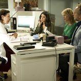 Sonia, Candela y Pablo en el médico en 'B&b, de boca en boca'