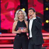Ruth Lorenzo se proclama ganadora en la Gala 1 de 'Tu cara me suena'