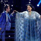 Ruth Lorenzo interpreta a Freddie Mercury y Monserrat Caballé en 'Tu cara me suena'