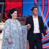 Ruth Lorenzo como Montserrat Caballé junto a Manel Fuentes en 'Tu cara me suena'
