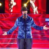 Adrián Rodríguez imita a El Barrio en 'Tu cara me suena'