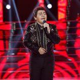 Falete imita a Juan Gabriel en 'Tu cara me suena'