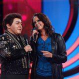 Shaila Durcal se emociona con Falete en 'Tu cara me suena'